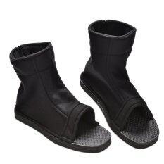 นินจารองเท้าบู๊ทสำหรับนารูโตะ Akatsuki คอสเพลย์สีดำ 1 คู่ 38 - นานาชาติ.