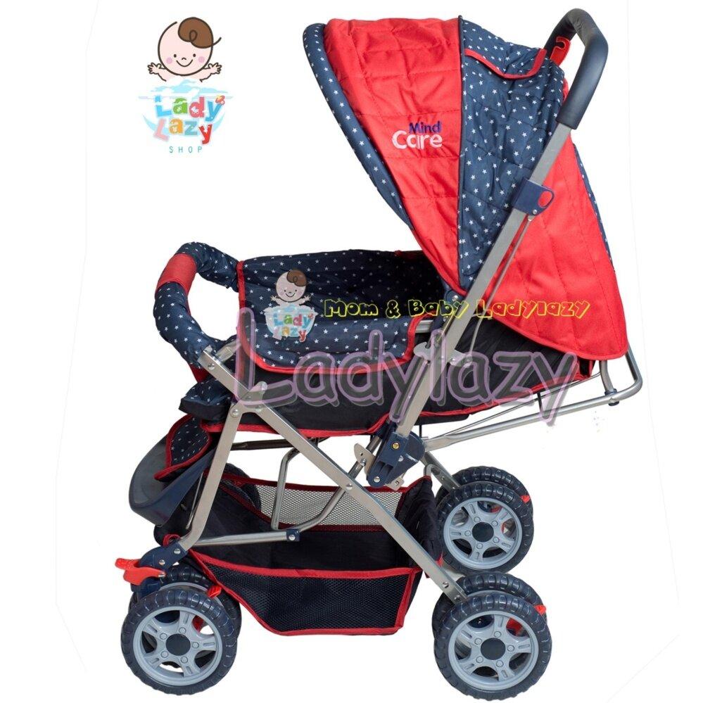 มีของแถ ส่งฟรี Natur รถเข็นเด็กแบบนอน NATUR รถเข็นเด็ก รุ่น Smart 3 สีฟ้า ของแท้ ส่งฟรี
