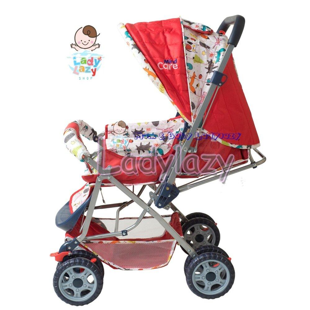 ขายถูกที่สุด Unbranded/Generic รถเข็นเด็กแบบนอน ทารกแรกเกิดรถเข็นเด็กทารกรถเข็นเด็กทารกเดินทางภูมิทัศน์พับรถเข็นเด็ก Pram - INTL รับประกันการคือสินค้า