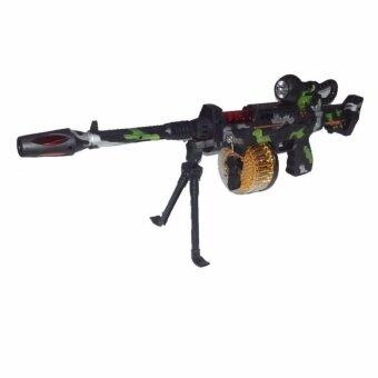 Noktoys.kt ปืน ของเล่น ปืนทหาร ปืนกล มีเสียง มีไฟ มีลูกโม่กระสูนหมุนได้ ของเล่น ลดกระหน่ำวันนี้ ขายถูกที่สุด!!