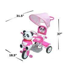 ขาย Np Toys รถจักรยาน รถเข็นสามล้อ รถสามล้อปั่นเด็กหน้าหมีแพนด้า มีด้ามเข็น ร่มบังแดด มีเสียงดนตรี No A23 Np Toys ออนไลน์
