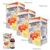 ขาย ซื้อ ออนไลน์ Nutroplex Oligo Plus วิตามินเสริมสำหรับลูกกินน้อย ขับถ่ายยาก 60 Ml 3 ขวด วิตามินสำหรับเด็ก ไม่ทานผัก ช่วยการขับถ่าย บำรุงร่างกาย เสริมสร้างการเจริญเติบโต