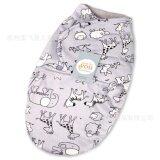 ซื้อ Ocean New Baby Sleeping Bags Double Short Plush Wrapped By Newborn Infant Blanket Double Layer Gray Bottom Animals Intl ใน จีน