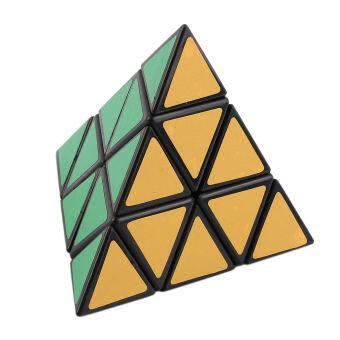 OH แฟชั่นปิรามิดสามเหลี่ยมลูกบาศก์ความเร็ว BLOCK Magic เกมของขวัญของเล่นเพื่อการศึกษา-