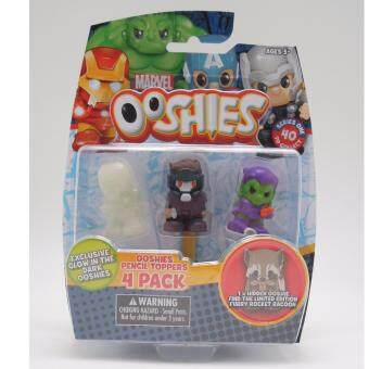 Ooshies Marvel แพ็ค 4 ชิ้น Star-Lord Goblin