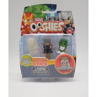 Ooshies Marvel แพ็ค 4 ชิ้น Thor She Hulk