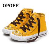 ขาย Opoee เกาหลีนักเรียนสาวรองเท้าเด็กรองเท้าผ้าใบ เป็นต้นฉบับ