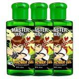 Pack 3 เจลอาบน้ำ Disney รุ่น เบ็นเท็น 100 มล ใน ไทย
