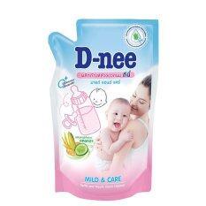 ซื้อ Pack 6 น้ำยาล้างขวดนมและจุกนม D Nee แบบชนิดเติม 600 มล ใหม่ล่าสุด