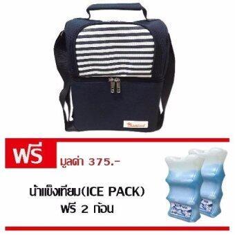 PalmandPondกระเป๋าเก็บความเย็นCoolbag+น้ำแข็งเทียม(Ice Pack) รุ่น 5
