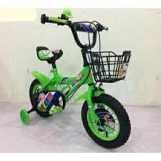 ขาย Pangforkids รถจักรยานเด็กขนาด 12 นิ้ว รุ่น Lnz6666 12 ล้อแบบซี่ลวด ยางเติมลม ล้อประคองไฟ สีแดง เหลือง เขียว น้ำเงิน Pangforkids เป็นต้นฉบับ
