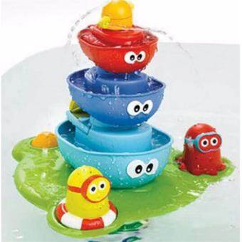 Patricks Kids Bath Toy Fountain ของเล่นในห้องน้ำ ตุ๊กตาน้ำพุ Zhi Tong Baby
