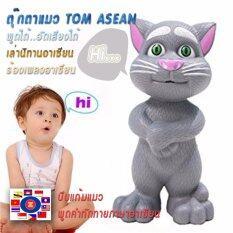 ซื้อ Perla Toy ตุ๊กตาแมวทอมพูดได้ แมวเล่านิทาน แมวอัจฉริยะแคท Talking Tomcat แมวเลียนเสียงพูดได้ ใน กรุงเทพมหานคร