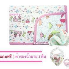 ผ้าห่มเด็ก ผ้าห่อตัวเด็ก ของใช้เด็กอ่อน ของใช้เด็กแรกเกิด ถุงนอนเด็ก ของใช้ทารก ที่นอนเด็กอ่อน เครื่องนอนเด็กอ่อน Korea Princess Palace สีชมพู เป็นต้นฉบับ