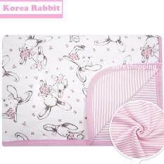 ซื้อ ผ้าห่มเด็ก ผ้าห่อตัวเด็ก ของใช้เด็กอ่อน ของใช้เด็กแรกเกิด ถุงนอนเด็ก ของใช้ทารก ที่นอนเด็กอ่อน เครื่องนอนเด็กอ่อน Korea Rabbit สีชมพู ใหม่