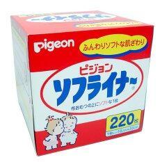 ราคา แผ่นรองผ้าอ้อมเด็ก Pigeon 220 แผ่น Pigeon ออนไลน์