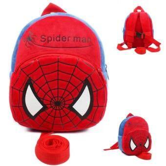 PKBabyBagpack+เป้จูงเด็ก+กระเป๋าเป้จูงเด็กลายการ์ตูนน่ารัก+อุปกรณ์ช่วยเด็กหัดเดิน(ลายไอ่แมงมุม)