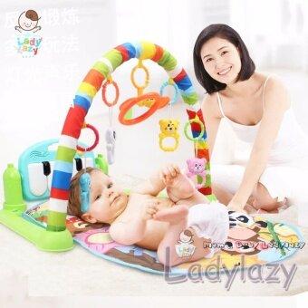 ladylazyเพลยิมที่นอนโมบายเปียโน play gym No.DD210