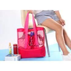 กระเป๋าอเนกประสงค์ Play&joy สีชมพู.
