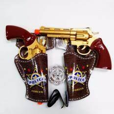 Police Gun Set ปืนตำรวจ ปืนคาวบอย ปืนของเล่น ใหม่ล่าสุด