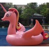 โปรโมชั่น ห่วงยางแฟนซี แพยางเป่าลม ม้าโพนี่ พาสเทล ชมพู Pony Pastel Pink ขนาด 270X220X165 ซม No Brand