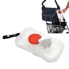 สะดวกเปียกเนื้อเยื่อกล่องรถเข็นเด็กทารก Accessorieseasy พกพา-นานาชาติ By Airforce.