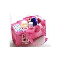 ราคา กระเป๋าแบ่งช่องสำหรับใส่สัมภาระลูกน้อย สีชมพู Unbranded Generic เป็นต้นฉบับ