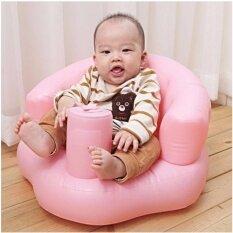 เก้าอี้หัดนั่ง เป่าลม เบาะหัดนั่ง สีชมพู สำหรับเด็กเล็ก กรุงเทพมหานคร
