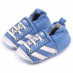 รองเท้าเด็ก รองเท้าเด็กแรกเกิด ลายรองเท้าสีฟ้า กรุงเทพมหานคร
