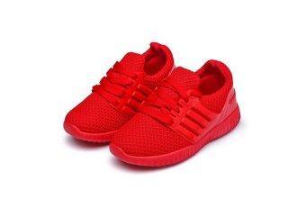 ขนาดเล็กเด็กครึ่งระบายอากาศรองเท้าผ้าตาข่ายรองเท้าเด็ก