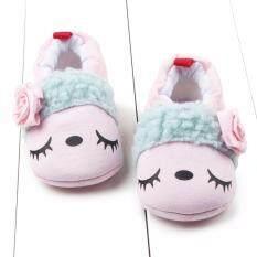 ราคา ราคาถูกที่สุด รองเท้าเด็ก รองเท้าเด็กแรกเกิด ตาหวานสีชมพู