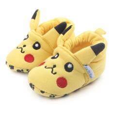 โปรโมชั่น รองเท้าเด็ก รองเท้าเด็กแรกเกิด ลายปิกาจู