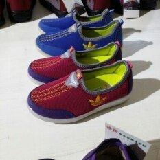 ขาย ซื้อ ออนไลน์ ผ้ายืดระบายอากาศของแท้รองเท้าเด็ก