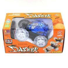 Toon World รถบังคับรีโมทตีลังกาล้อไฟ มีเสียง Dasher Rc Car With Light And Music.