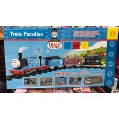 ของเล่น ลดกระหน่ำวันนี้ ขายถูกที่สุด!! รถไฟโทมัส พร้อมราง มีไฟ มีเสียง และมีควัน เหมือนจริง .