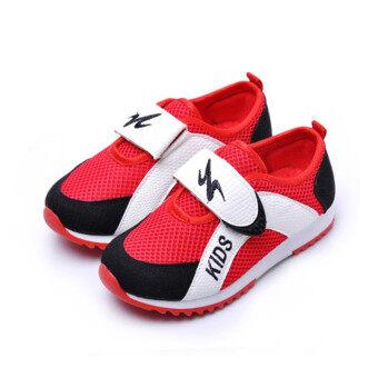 รองเท้ากีฬาเด็ก แบบลำลอง ผ้าตาข่าย สไตล์เกาหลี