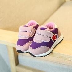 ราคา บวกกำมะหยี่ฤดูหนาวหนารองเท้าเด็กวัยหัดเดินทารกรองเท้ากีฬา เป็นต้นฉบับ