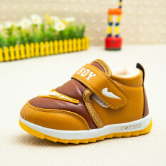 ซื้อ รองเท้าบูทแบบสั้น บุขนด้านในสำหรับเด็ก รุ่นหนาพิเศษ กันน้ำ กันลื่น ถูก ฮ่องกง