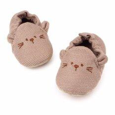 ซื้อ รองเท้าเด็ก รองเท้าเด็กแรกเกิด ลายหนูผ้าถัก ถูก ใน กรุงเทพมหานคร