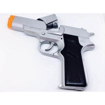 ปืนแก๊ป ปืนปล่อยตัวนักกีฬา แม็กกาซีน เงิน