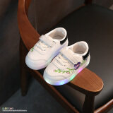 ขาย เกาหลีฤดูใบไม้ร่วงใหม่รองเท้าวิ่งรองเท้าผ้าใบเด็ก เป็นต้นฉบับ
