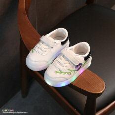ขาย เกาหลีฤดูใบไม้ร่วงใหม่รองเท้าวิ่งรองเท้าผ้าใบเด็ก ออนไลน์