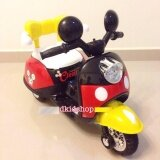 รถมอเตอไซส์ รถแบตเตอรี่ รถมิกกี้เม้าส์สีแดง รถเด็กไฟฟ้า Smile Kids ถูก ใน Thailand