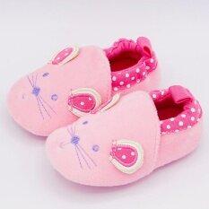ขาย ซื้อ รองเท้าเด็ก รองเท้าเด็กแรกเกิด ลายหนูชมพู