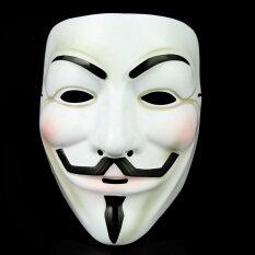 เช็งควานเทศกาลฮาโลวีความหวาดกลัวหน้ากาก Hacker V-หน้ากากอาฆ่า V-ทีมหน้ากาก V For Vendetta หน้ากาก By Taobao Collection.