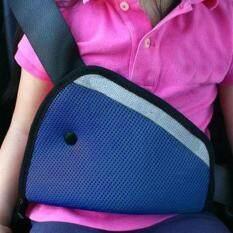 เข็มขัดนิรภัยรถยนต์สำหรับเด็ก ที่ปรับระดับเข็มขัดนิรภัยสำหรับเด็ก ไม่ต้องใช้คาร์ซีท