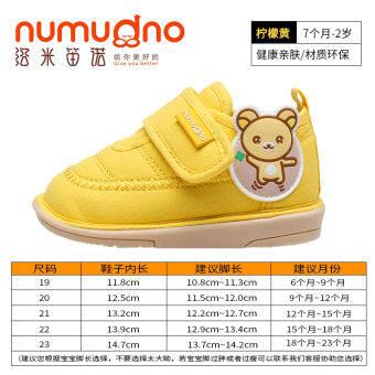 0-1 รองเท้าหัดเดินรองเท้าฤดูใบไม้ผลิและฤดูใบไม้ร่วง 12 เด็กทารกชายรองเท้าพื้นรองเท้าอ่อนกันลื่น 2 ปีทารกรองเท้าผ้าในช่วงฤดูร้อนลูกสาวรองเท้าเด็ก
