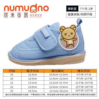 0-1 รองเท้าหัดเดินรองเท้าฤดูใบไม้ผลิและฤดูใบไม้ร่วง 12 เด็กทารกชายรองเท้าพื้นรองเท้าอ่อนกันลื่น 2 ปีทารกรองเท้าผ้าในช่วงฤดูร้อนลูกสาวรองเท้าเด็ก-
