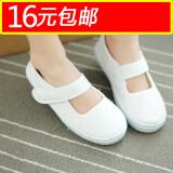 ส่วนลด บริสุทธิ์สีขาวเต้นรำทำหน้าที่ออกนักเรียนรองเท้ารองเท้า Unbranded Generic ฮ่องกง