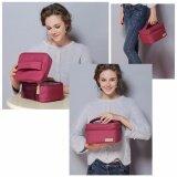 ราคา กระเป๋าเก็บอุณหภูมิ กระเป๋าเก็บความเย็น กระเป๋าเก็บความร้อน กระเป๋าเก็บนมแม่ แบบถือ สีแดง